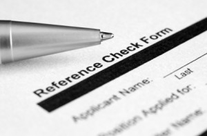 reference check forms